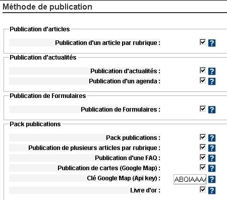 pack publication s